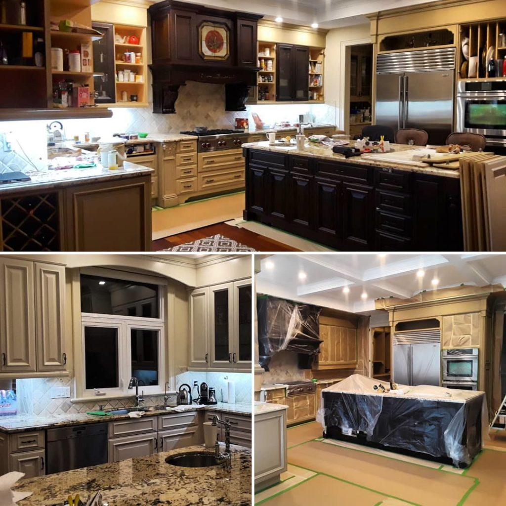 Phenomenal Kitchen Cabinets Painting Bright Coating Solutions Home Interior And Landscaping Ologienasavecom