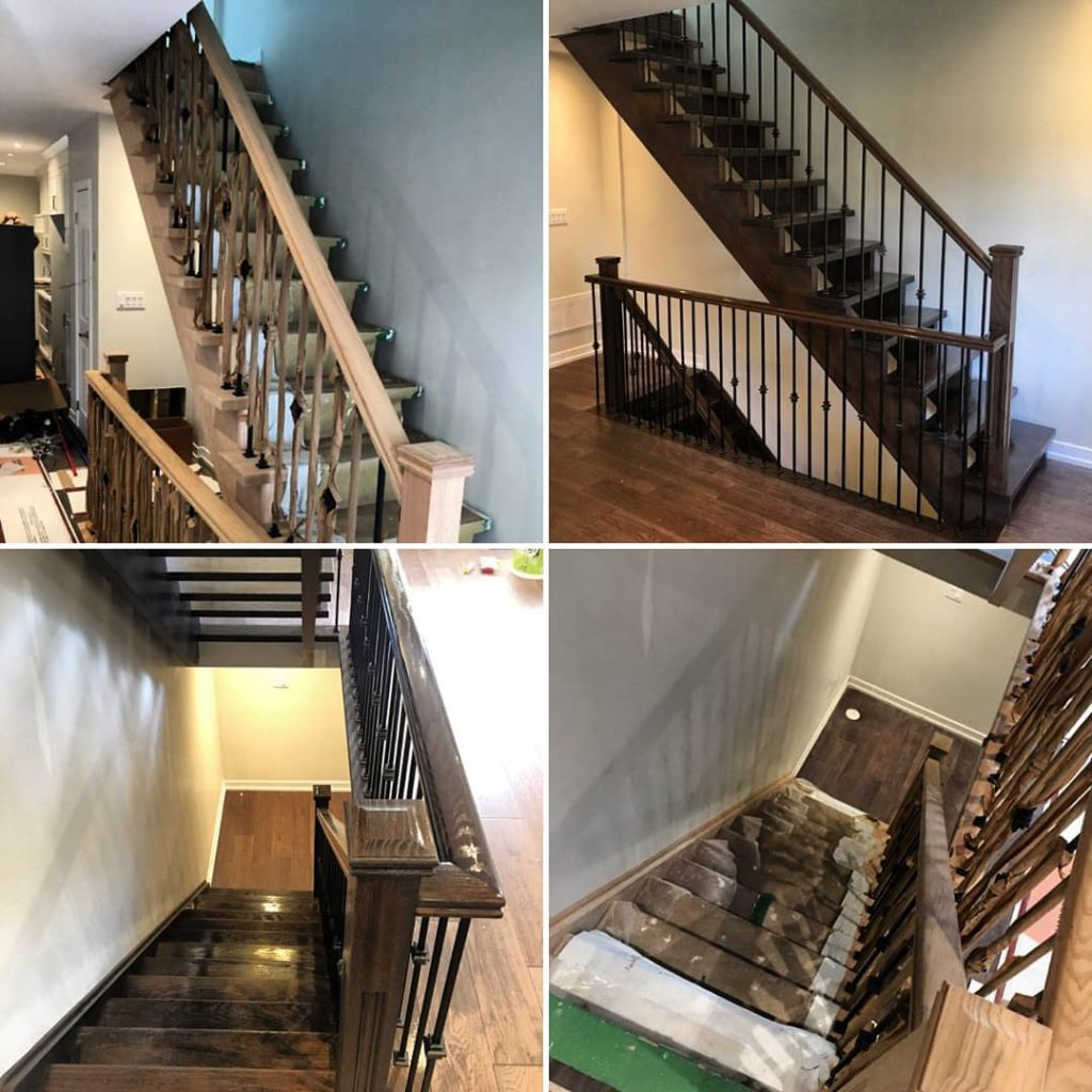 Top GTA Stairs & Staircase Paint Refinishing | Bright ...