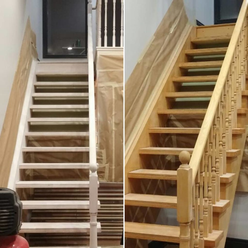 Stair Case: Top GTA Stairs & Staircase Paint Refinishing